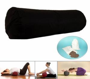 Bilde av Yoga Bolster Rund Sort Mani