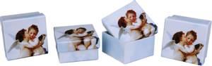 Bilde av Engle gaveeske firkantet 1